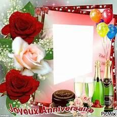 cadre photo anniversaire gratuit anniversaire montages photo p 1 37 pixiz