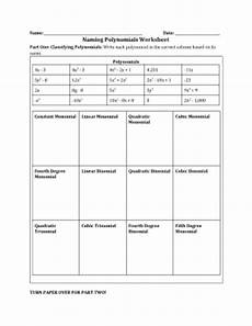 naming polynomials worksheet fill online printable fillable blank pdffiller