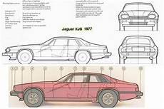 jaguar xj6 dimensions tutorials3d blueprints jaguar xjs