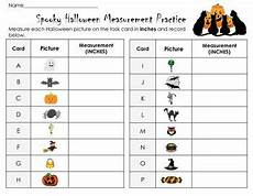 physical science measurement worksheets 13142 spooky measurement practice 16 task cards in metrics and or inches task cards