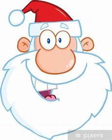 Malvorlage Weihnachtsmann Kopf Fototapete Gl 252 Cklicher Weihnachtsmann Kopf