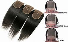 Amazon Com 3 Part Lace Closure Straight With Amazon Com 3 Part Lace Closure Straight With Baby Hair