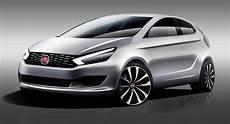 Next Generation 2017 Fiat Punto Concept Rendering