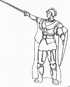 Malvorlagen Ritter Hund Ritter Mit Umhang Und Schwert Ausmalbild Malvorlage