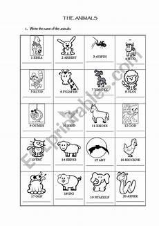 animal farm revision worksheets 14028 animals revision esl worksheet by mclaratf