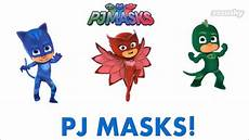 Pj Mask Malvorlagen Lyrics Pj Masks Theme Song And Lyrics