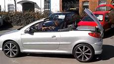 peugeot 206 cc 1 6 cabriolet coupe covertible www cbmtrade