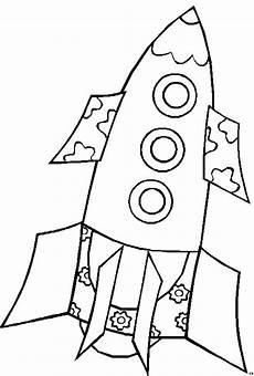 rakete 3 ausmalbild malvorlage kinder