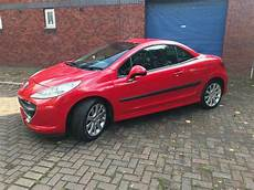 peugeot 207 cc 1 6 16v gt 2008 peugeot 207 cc 1 6 16v gt 2dr 2008 bright red 2 keys june 2018 mot in pontcanna cardiff gumtree