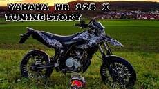 yamaha wr 125 x tuning story sumoleon