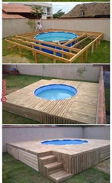 Id 233 Es Piscines Garten Pool Im Garten Pool F 252 R Kleinen