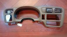 on board diagnostic system 1999 chevrolet tahoe instrument cluster service manual how remove dash on a 1998 chevrolet blazer 1998 2004 chevy s10 blazer jimmy