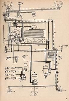 1951 vw bug wiring harness painless thesamba type 1 wiring diagrams