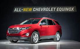 2018 Chevy Equinox Specs Released  GM Authority