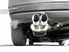 golf mk3 exhaust sound