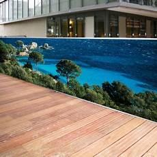 brise vue décoratif brise vue de jardin en polyester d 233 cor tamaricio 300 x 80 cm