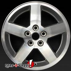 16x6 quot chevy cobalt oem wheels 2007 2010 machined rims 5269