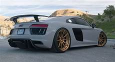 this modified audi r8 plus is an attention seeker carscoops