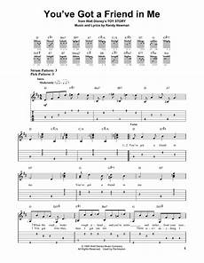 simple song chords you ve got a friend in me from story easy guitar tab for instrument acoustic
