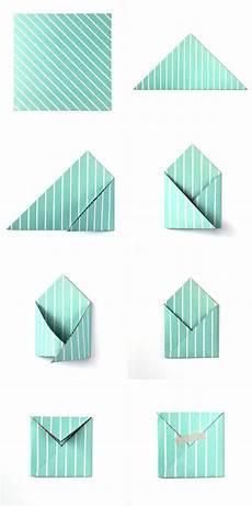 kleinen umschlag falten briefumschlag selber basteln briefumschlage basteln