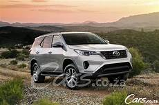 toyota fortuner 2020 facelift 2020 toyota fortuner what we so far cars co za