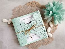 diy wedding invitations mint diy elegant mint wedding invitations video anna