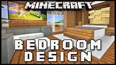 minecraft how to make a master bedroom design modern house build ep 16 youtube