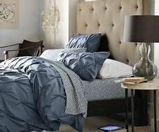 Unbuttoned Grid Tufted Headboard Geometric Detailing