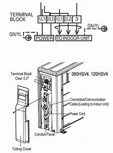 electrical specs for installing ductless splits hvac units