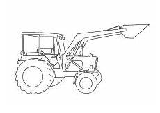 malvorlagen traktor mit schaufel batavusprorace