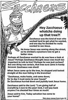 activity sheet zacchaeus christart com