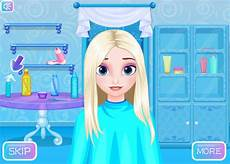 download frozen hairstyle design game
