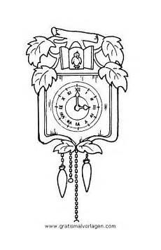 Malvorlagen Uhr Ums Cucu Uhr Gratis Malvorlage In Diverse Malvorlagen