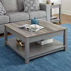 Shop Altra Carver Grey Sonoma Oak Coffee Table On Sale