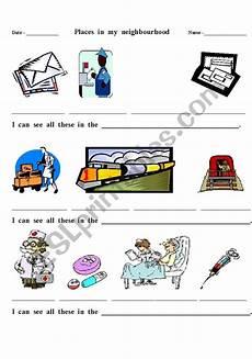 places in my neighbourhood worksheets 16015 worksheets places in my neighbourhood