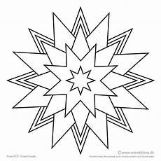 Malvorlagen Einfache Formen Malvorlagen Sterne