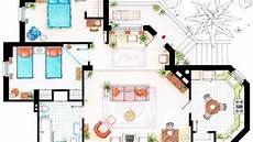 floor plans for your favorite sitcom homes public radio