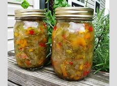 easy sweet pepper relish recipe