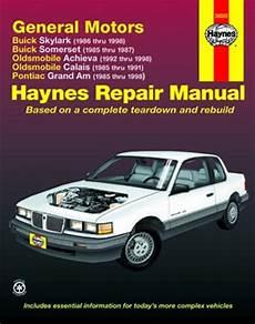 motor auto repair manual 1998 pontiac grand am interior lighting buick skylark and somerset olds achieva and calais pontiac grand am haynes repair manual