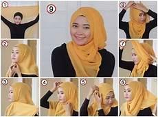 Collection Of Jilbab Segi Empat Dan Cara Memakainya