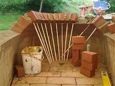 Eigenbau Holzbackofen Gemauerte Kuppel In Birnenform