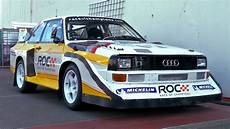 audi quattro s1 audi s1 quattro rally car with stig blomqvist at race of