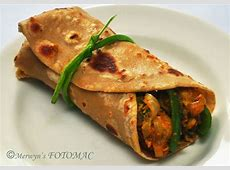 Chicken Kathi Roll   Hilda's Touch Of Spice