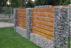 cloture en gabion cloture gabion et bois cl 244 ture gabion cloture jardin et