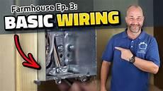 diy bathroom wiring how to run electrical youtube