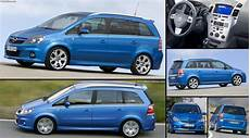 Opel Zafira Opc 2006 Pictures Information Specs
