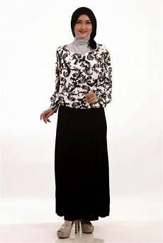 Gambar Baju Muslim Batik Terbaru