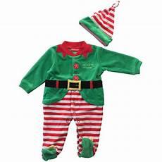neonato in tutina ciniglia da neonato da elfo natale con cappellino