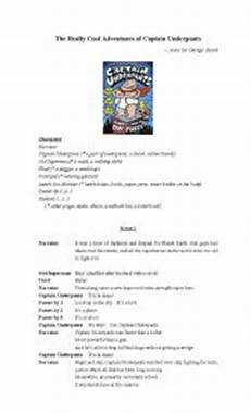english worksheet a play quot captain underpants quot