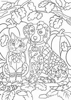 cats and dogs cat and favoreads coloring club